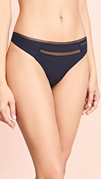0091290be1 Calvin Klein Underwear. Invisibles with Mesh Thong