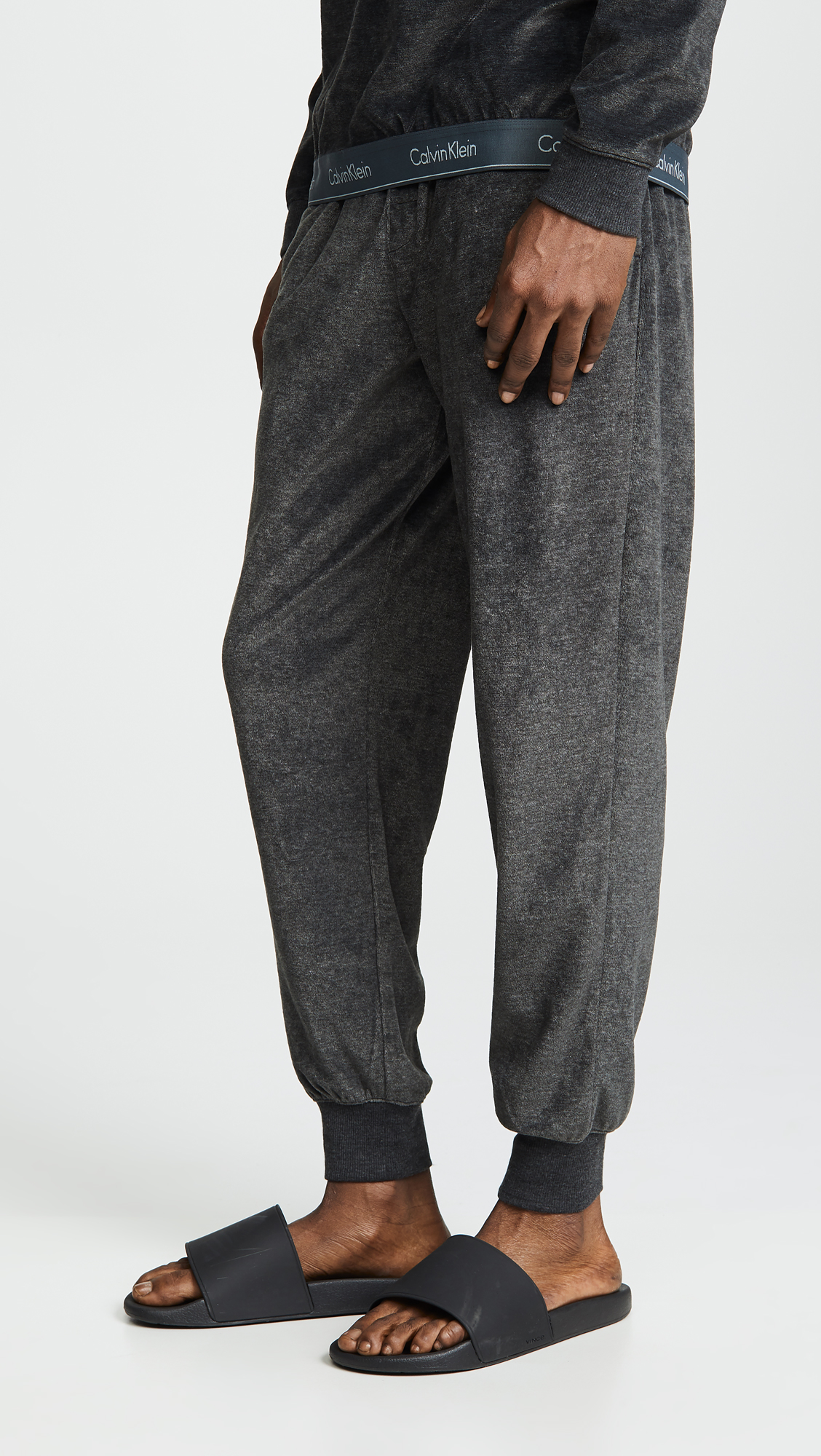 488aa02fb48338 Calvin Klein Underwear Modern Cotton Stretch Velour Jogger Pants ...