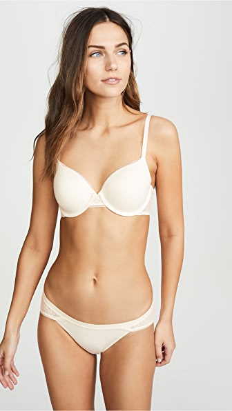 Calvin Klein Underwear Perfectly Fit Slipcover Lightly Lined Full Coverage Bra