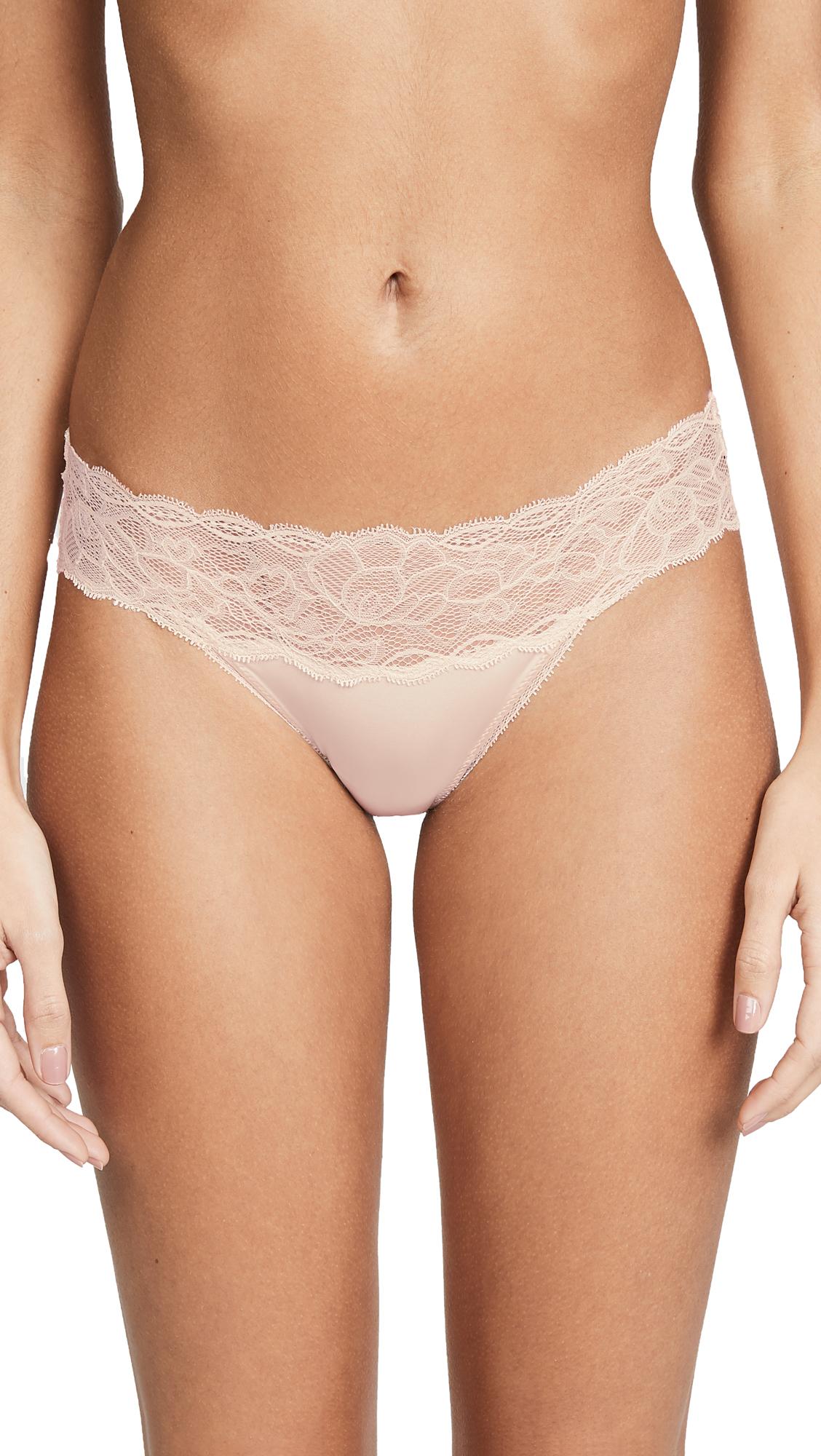 CALVIN KLEIN UNDERWEAR | Calvin Klein Underwear Seductive Comfort with Lace Bikini | Goxip