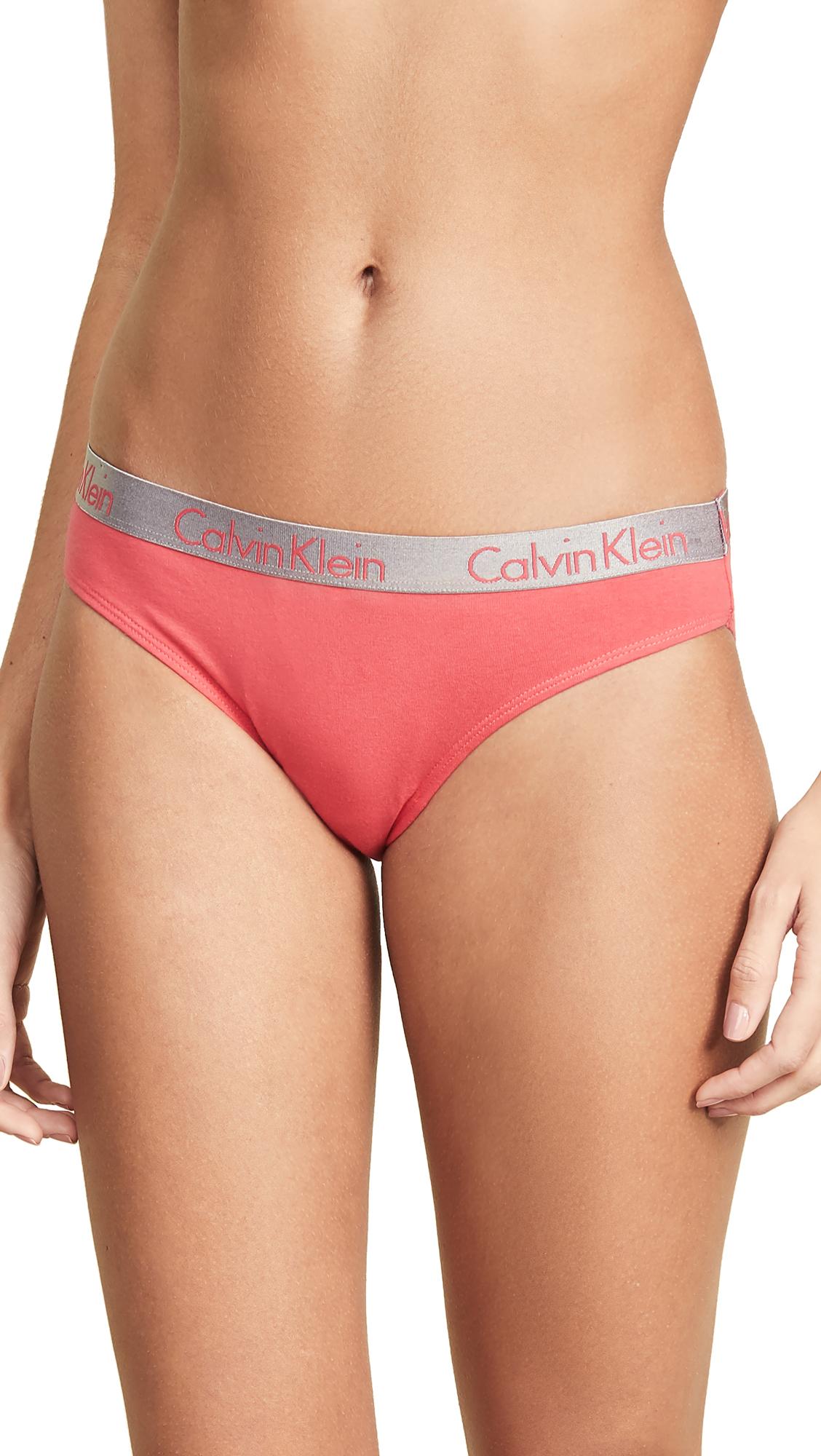 CALVIN KLEIN UNDERWEAR | Calvin Klein Underwear Radiant Bikini Briefs | Goxip