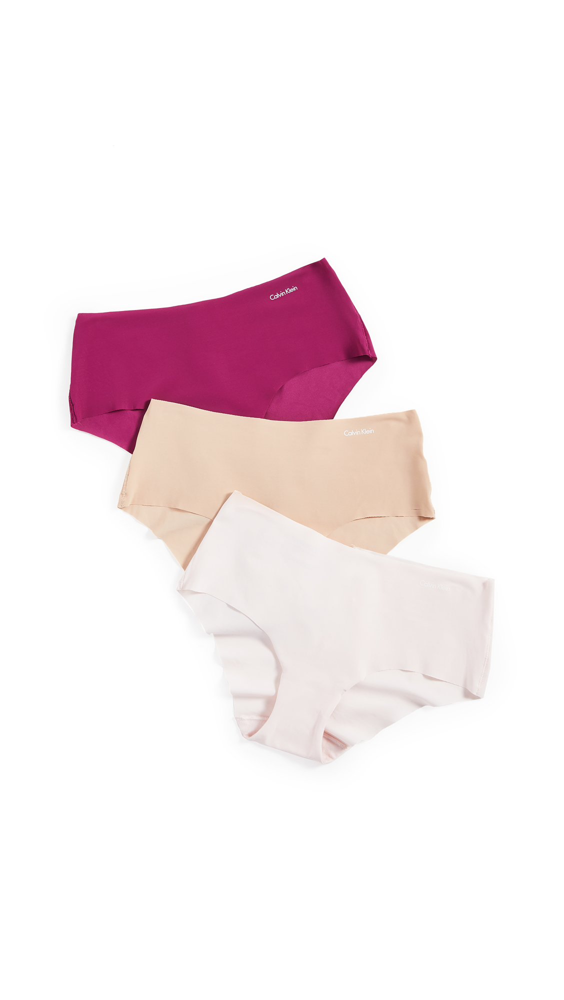 Buy Calvin Klein Underwear online - photo of Calvin Klein Underwear Invisibles Hipster 3 Pack