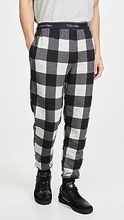 Calvin Klein Underwear Modern Cotton Buffalo Check Joggers