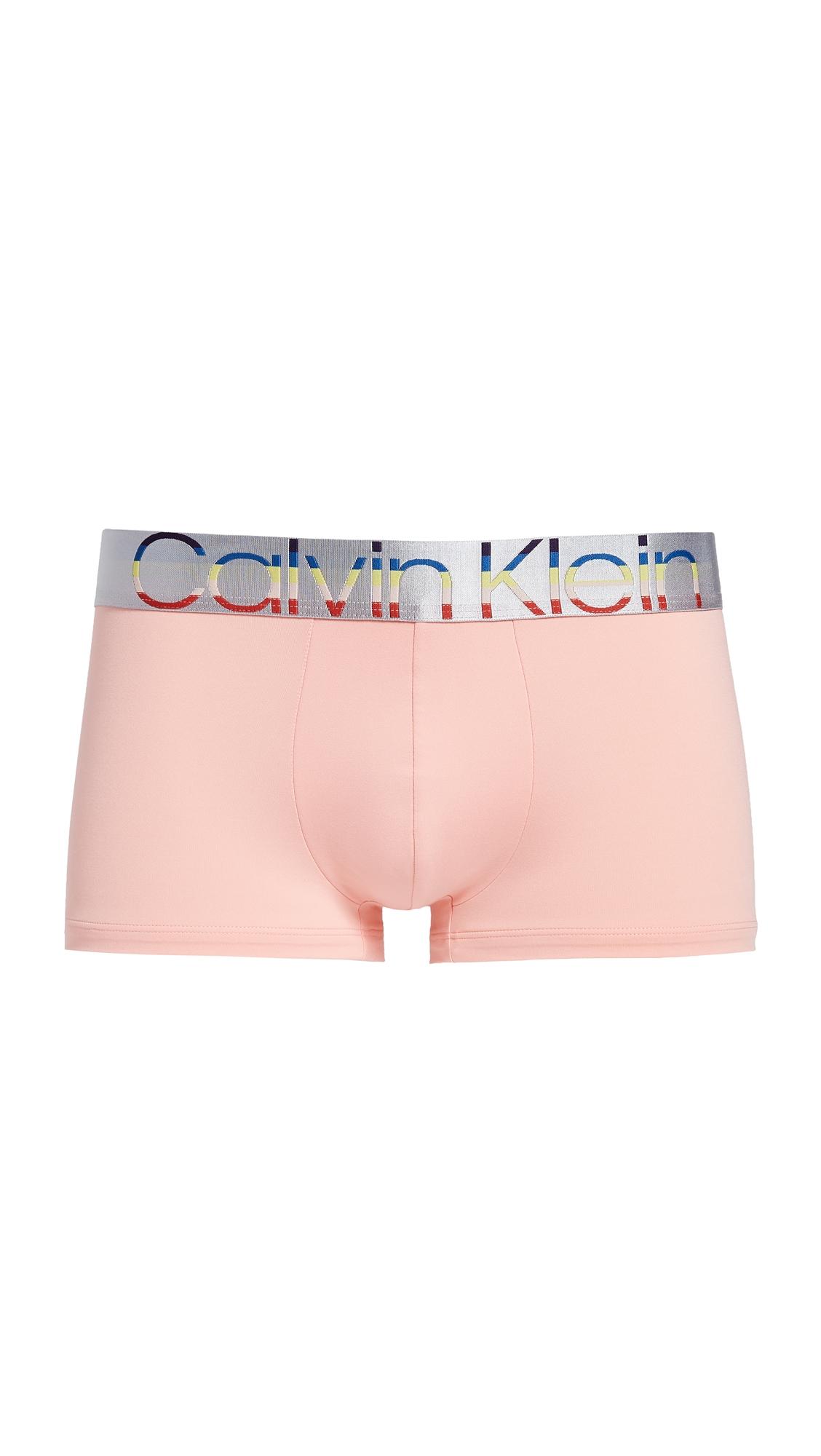 CALVIN KLEIN | Calvin Klein Underwear Low Rise Pride Trunks | Goxip