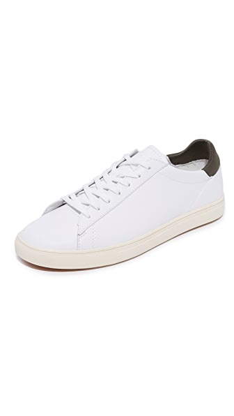 Clae Bradley Leather Sneakers