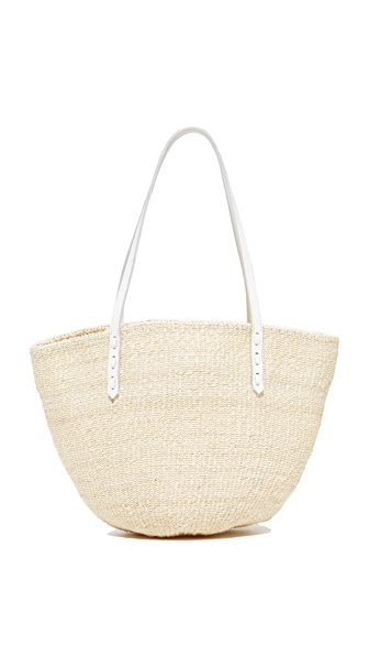 Clare V. Kenya Tote In Cream