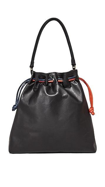 Clare V. Grand Henri Drawstring Bag