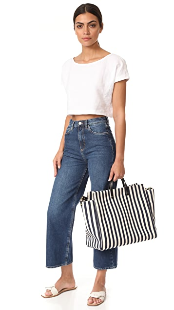 Clare V. Canvas Simple Tote