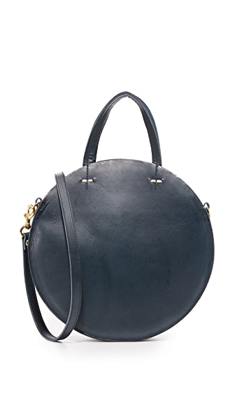 Clare V. Petite Alistair Tote - Navy