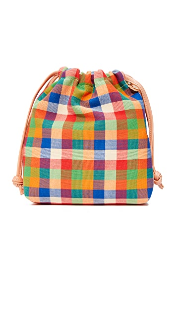 Clare V. Drawstring Pouch