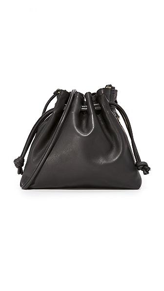 Clare V. Petite Henri Pouch In Black