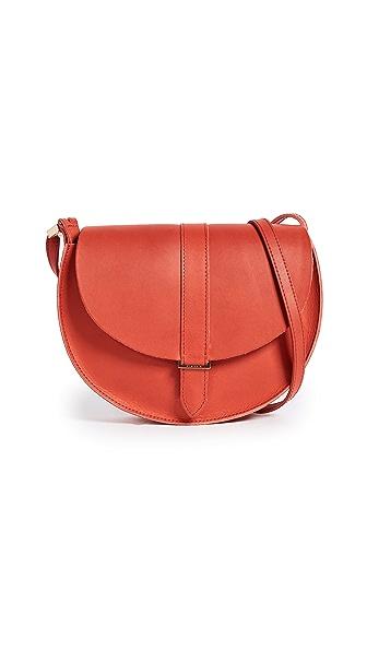 Clare V. Luce Suprême Cross Body Bag In Red