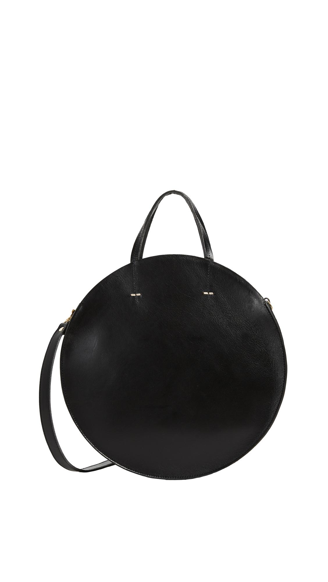 Clare V. Alistair Circle Bag - Black