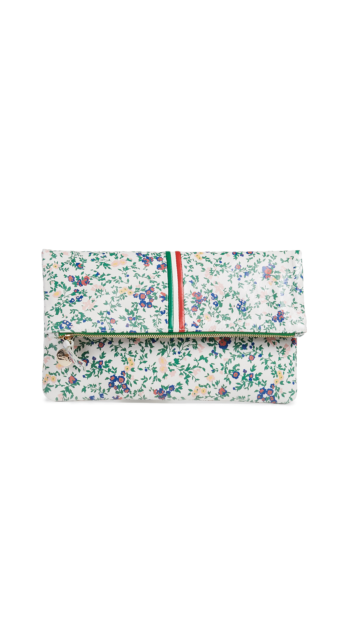 DITSY FLORAL FOLDOVER CLUTCH