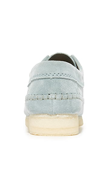 Clarks Suede Weaver Shoes