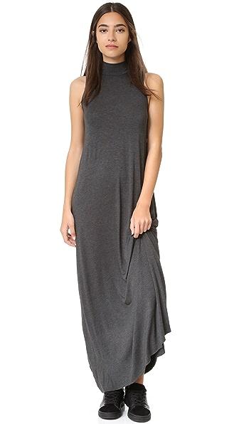 CLAYTON Amanda Maxi Dress - Charcoal