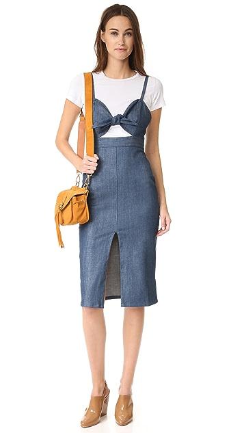 CLAYTON Denim Eunice Dress