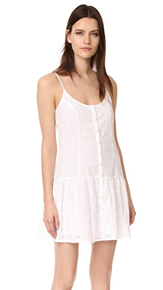 CLAYTON Vine Eyelet Maddie Dress