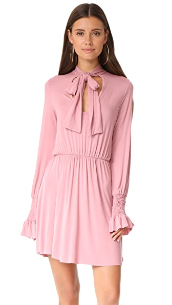 CLAYTON Camden Dress - Burnt Pink