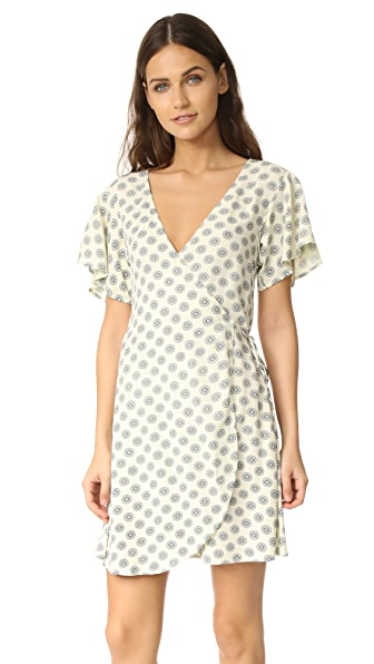 Cleobella Oxford Wrap Dress