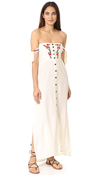 Cleobella Solita Maxi Dress - Ivory