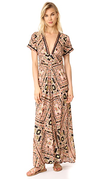 Cleobella Valentina Dress In Ausencia Print
