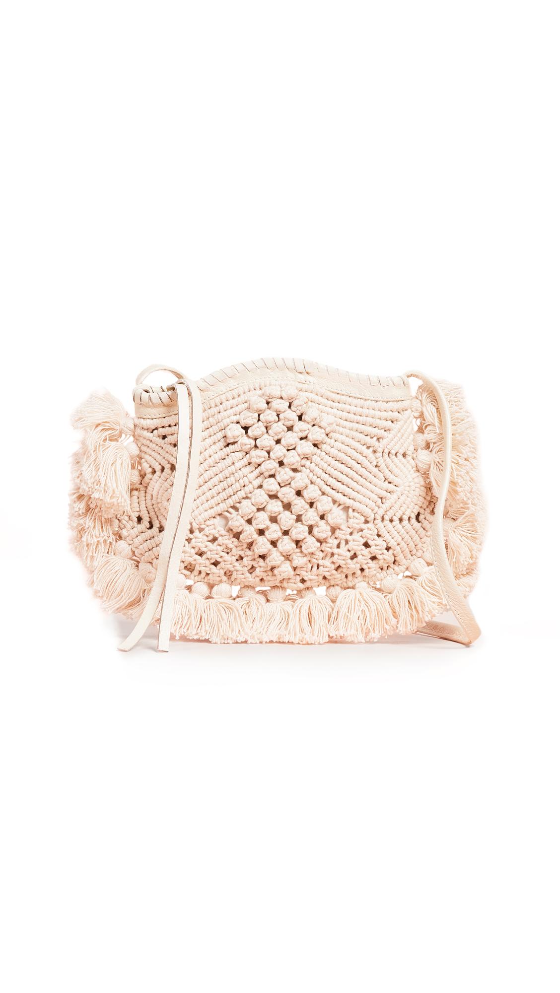 Cleobella Soho Crossbody Bag In Ivory