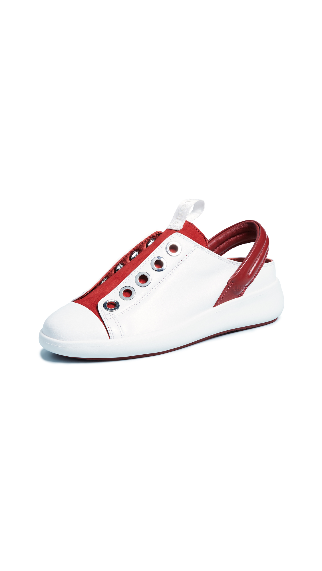 CLONE Moonstone Sneakers - White/Red