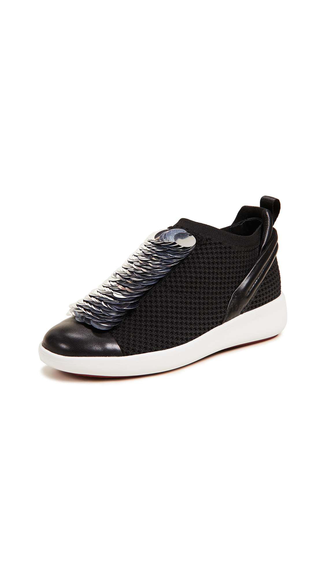 CLONE Moonstone Sneakers - Black/Silver