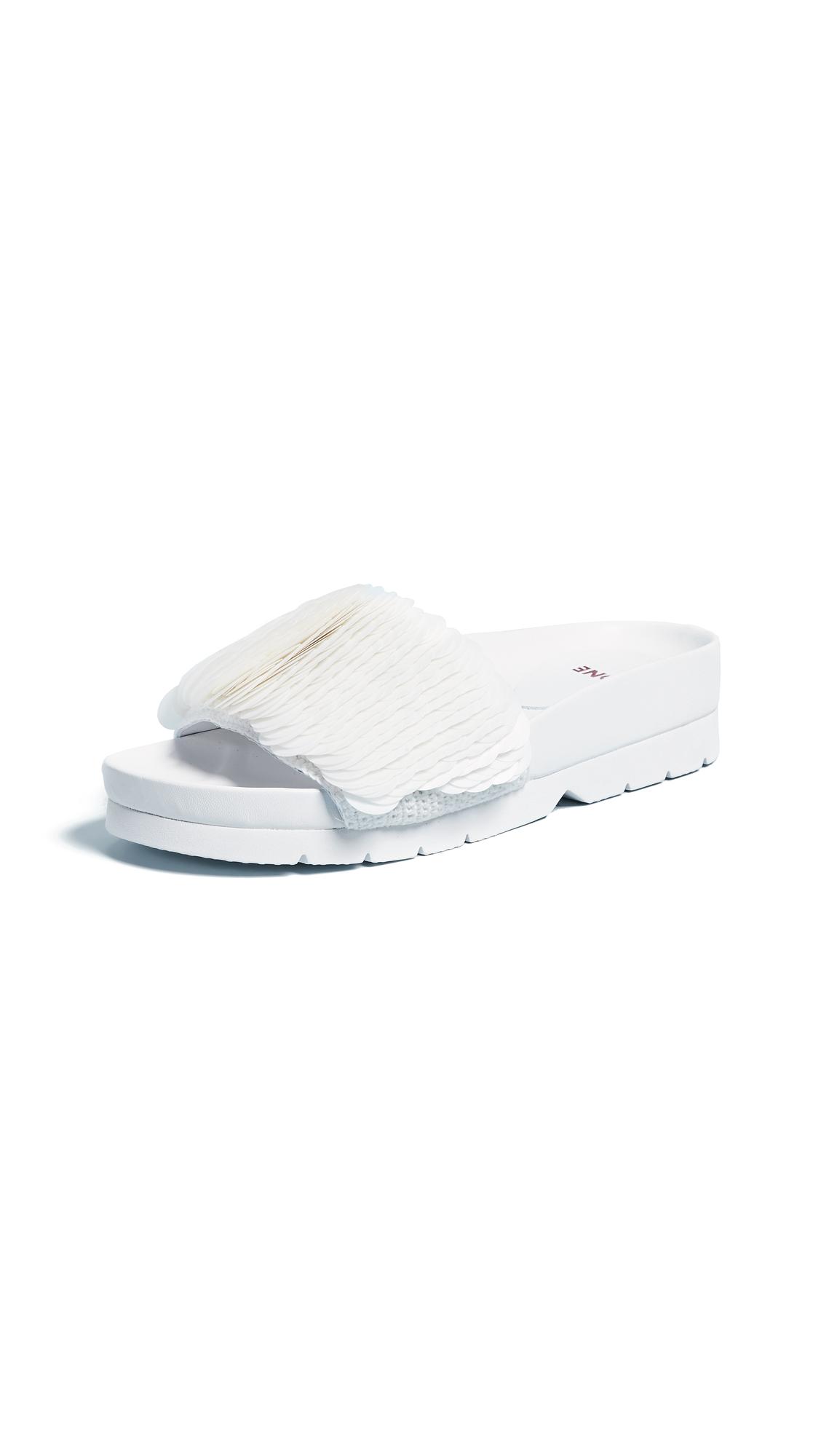 Quartz Sandals in White
