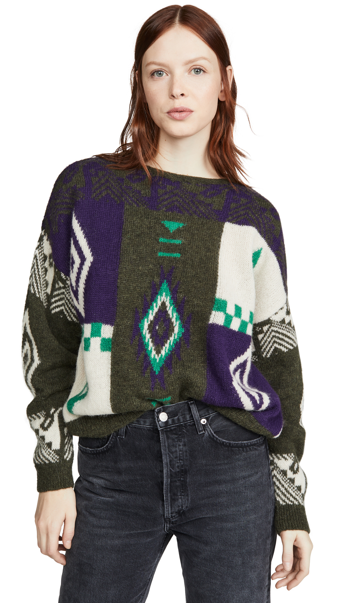 Buy Closed online - photo of Closed Knit Alpaca Sweater