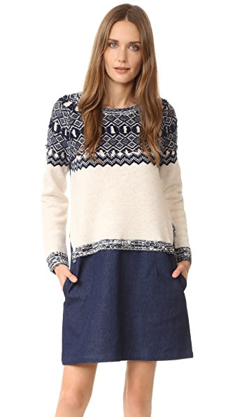 Clu Clu Too Fair Isle Sweater Dress
