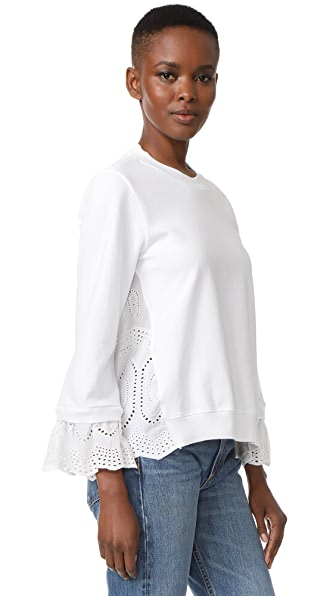 Clu Mix Media Sweatshirt