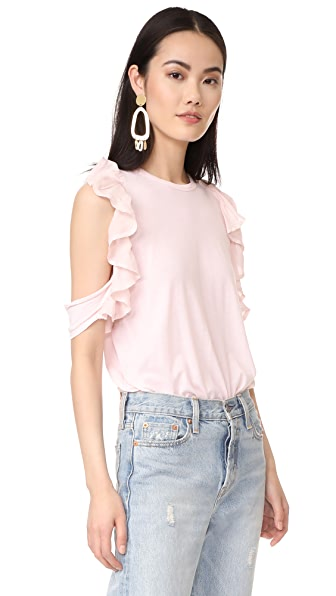 Clu Ruffle Detailed Top - Light Pink