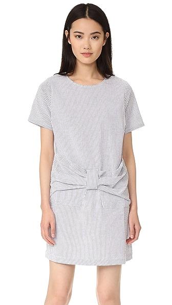 Clu Clu Too Bow Front Stripe Dress