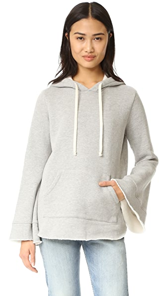Clu Hoodie Sweatshirt - Heather Grey