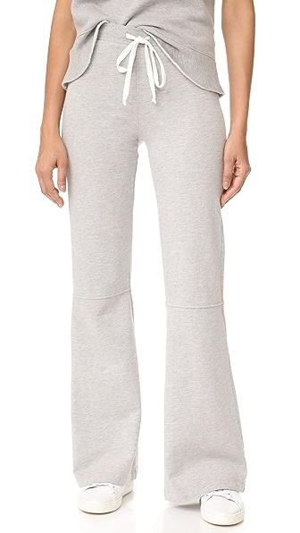 Clu Clu Too Bell Bottom Lounge Pants In Heather Grey