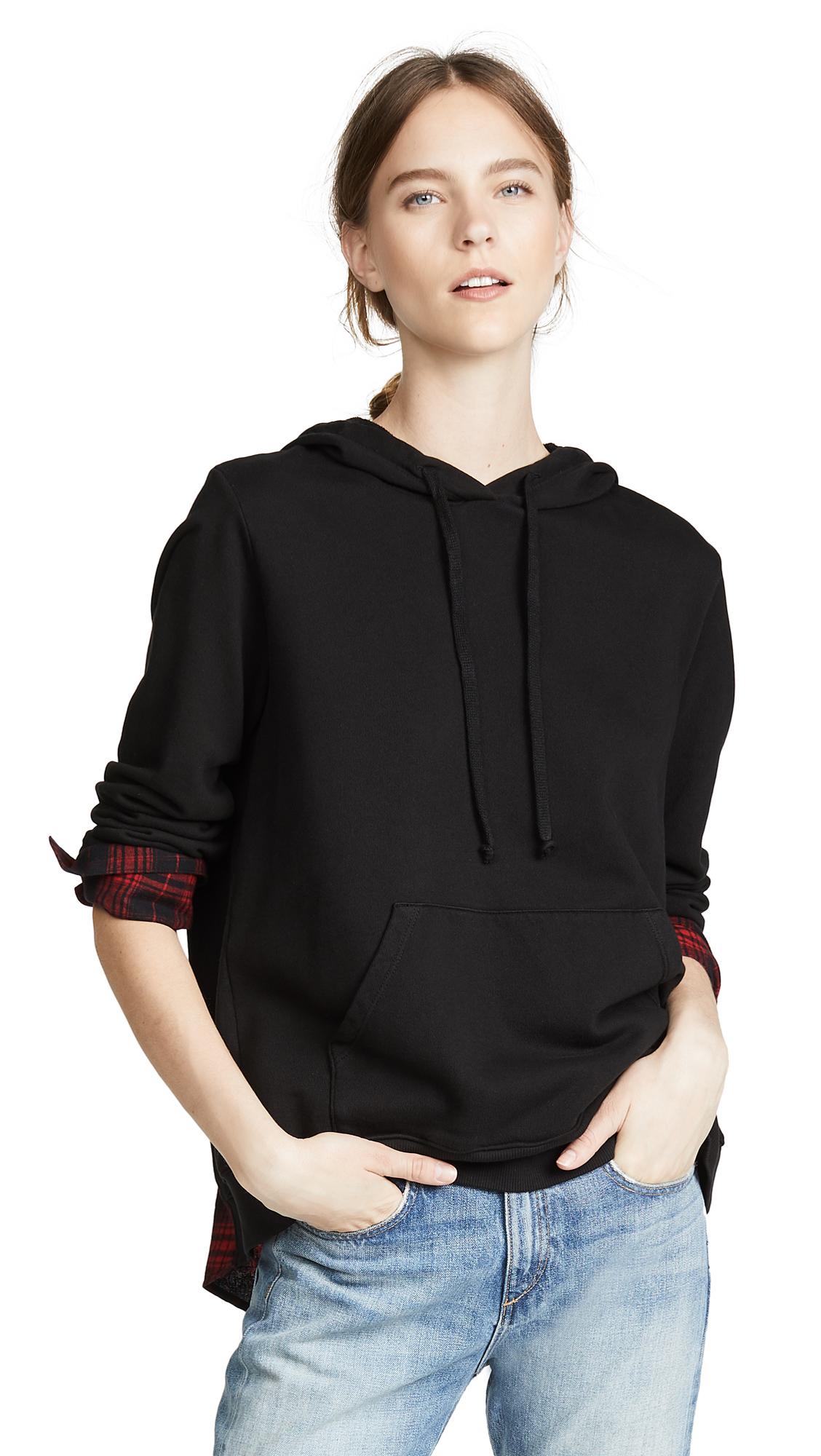 Clu Hooded Sweatshirt In Black