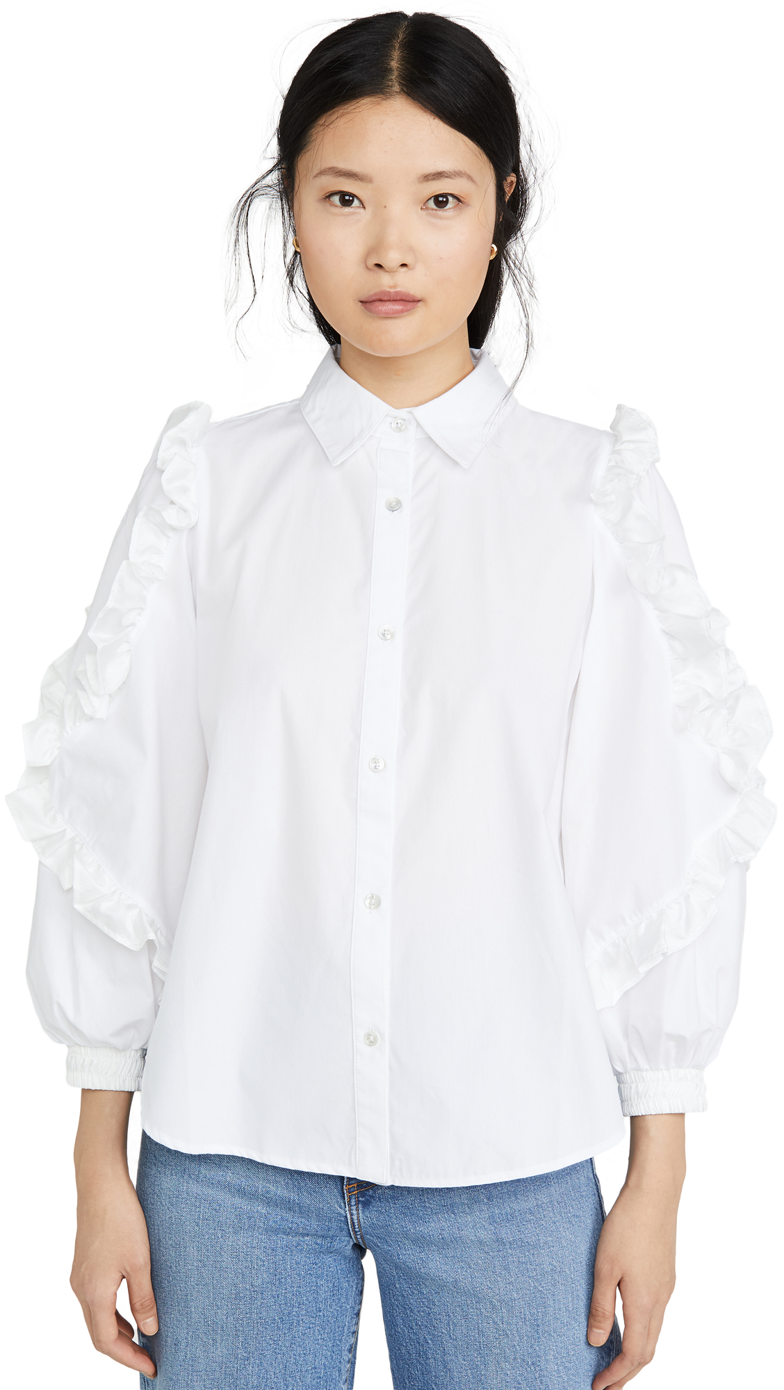 Buy Clu online - photo of Clu Ruffle Detailed Shirt
