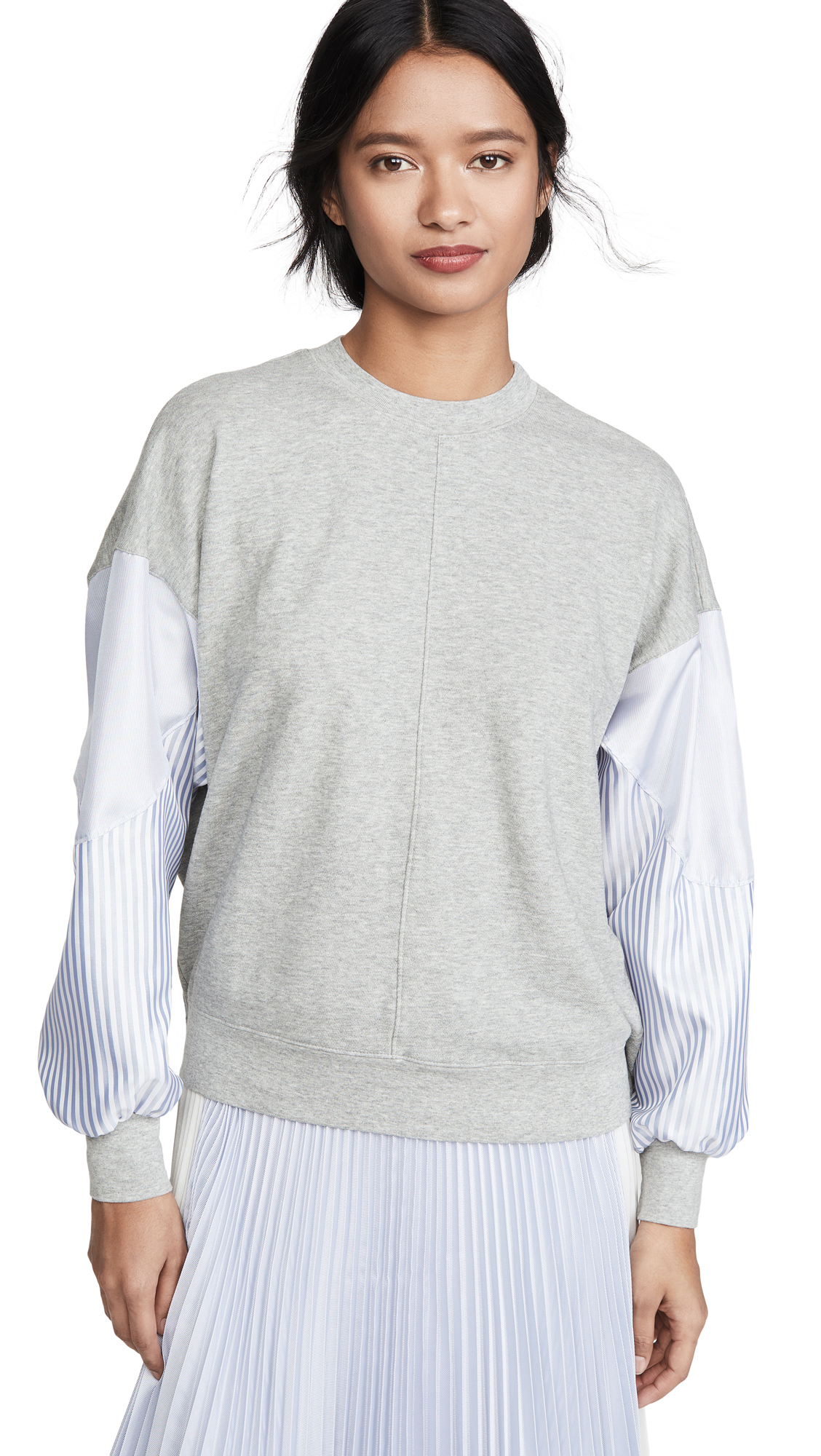Buy Clu online - photo of Clu Dolman Sleeve Pullover with Stripes