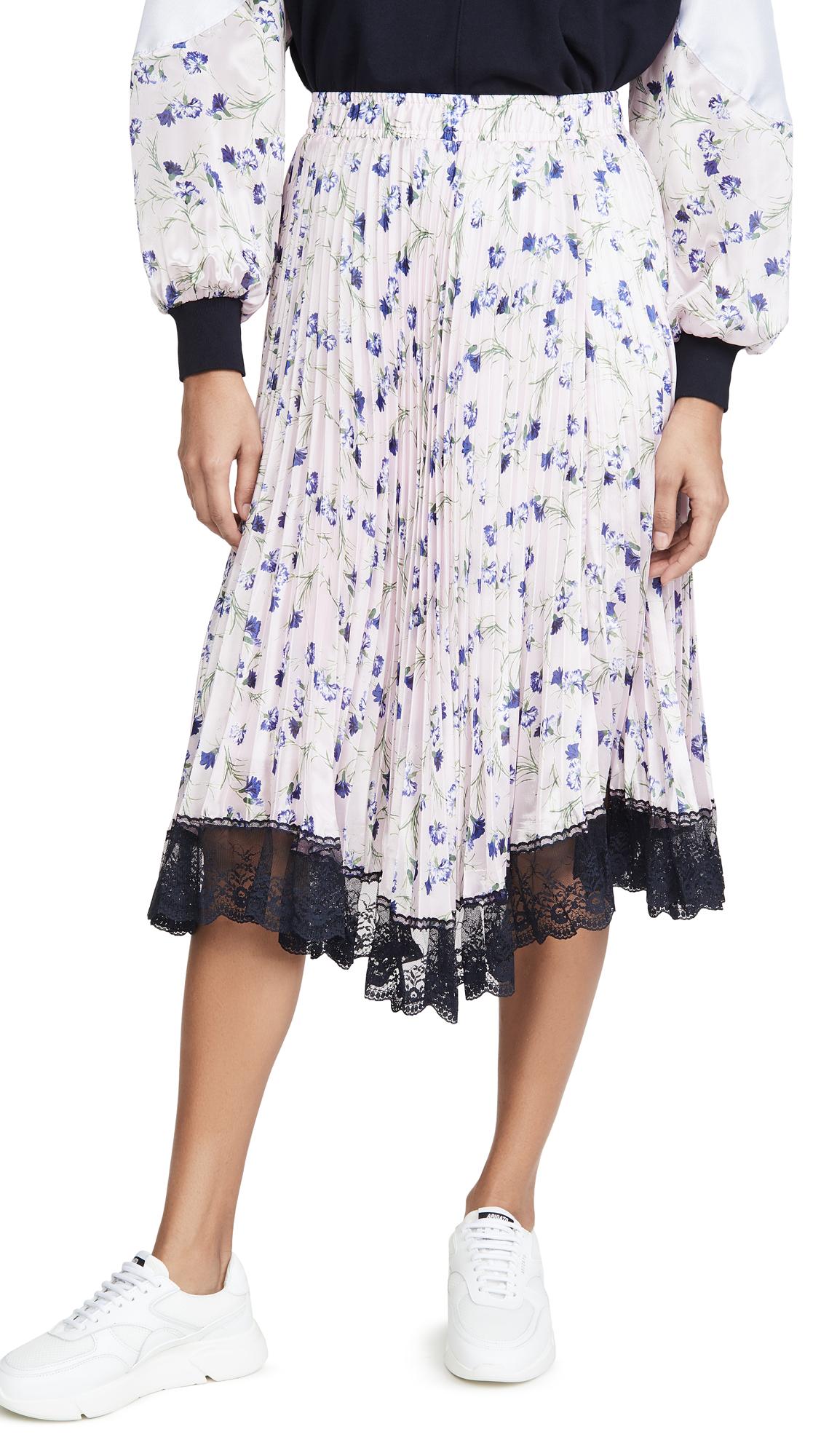 Buy Clu online - photo of Clu Pleated Floral Skirt