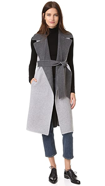 Club Monaco Hendryx Vest - Grey