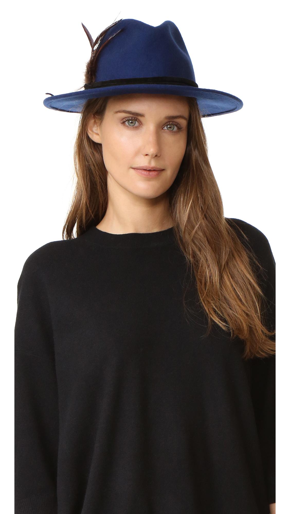 Club Monaco Raden Hat - Blue at Shopbop
