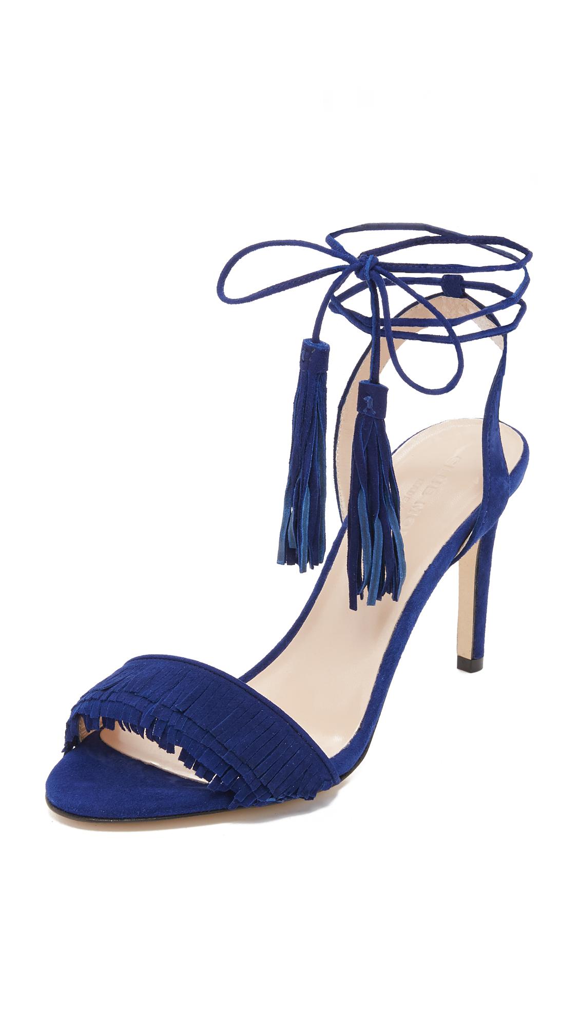 687bda84ee9472 Club Monaco Journie Fringe Sandals
