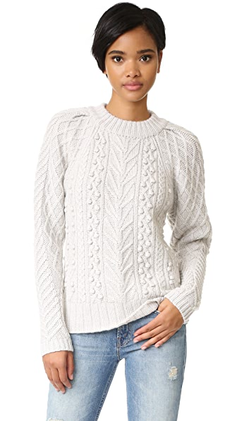 Club Monaco Dartyanya Cashmere Sweater - White Noise