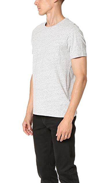 Club Monaco Williams Crew Pocket Tee