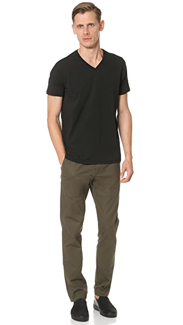 Club Monaco Joe V Neck Tee