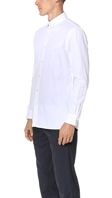 Club Monaco Slim Button Down Dress Oxford Shirt