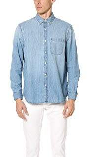 Club Monaco Classic BD Denim Shirt