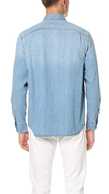 Club Monaco Classic BD Denim Shirt